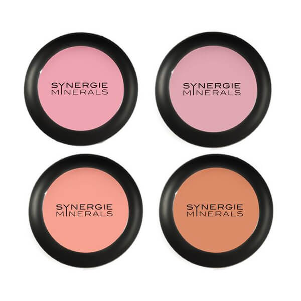 Synergie Minerals Hydroblush Blusher, available in 4 colors